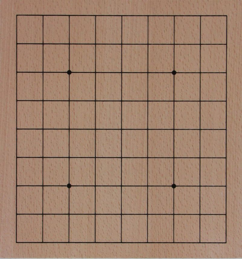 Go Board 9x9, 13 mm