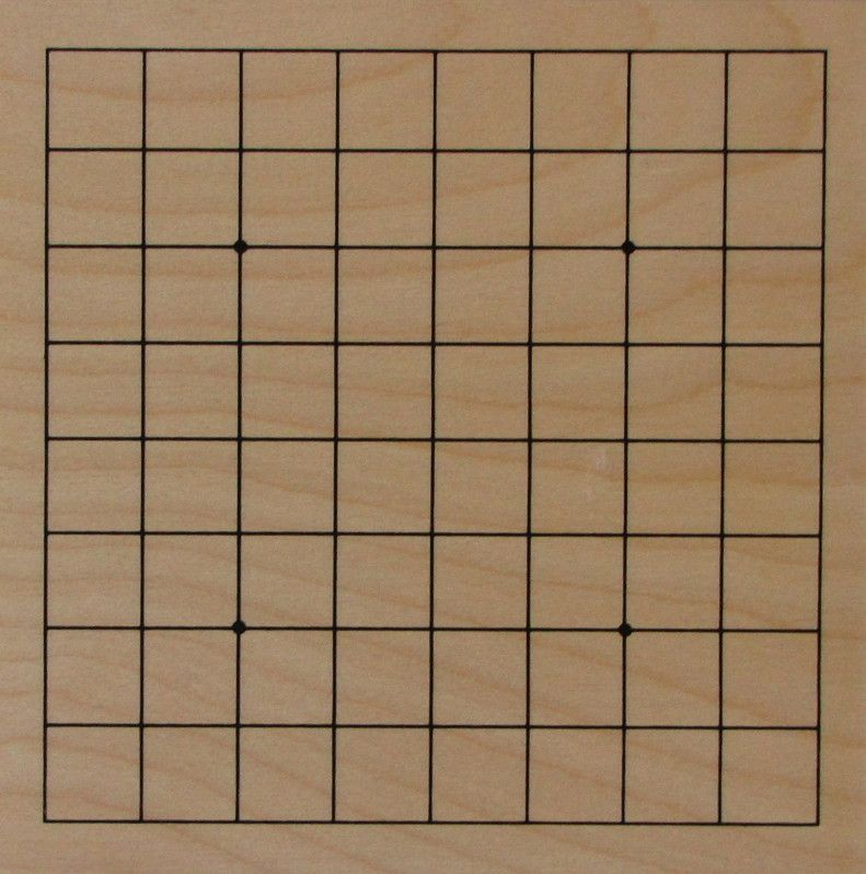 Plywood Go Board 9x9, 4 mm
