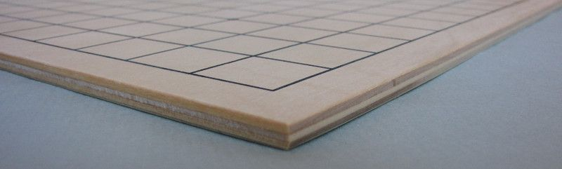 Plywood Go Board 13x13 + 9x9, 6 mm