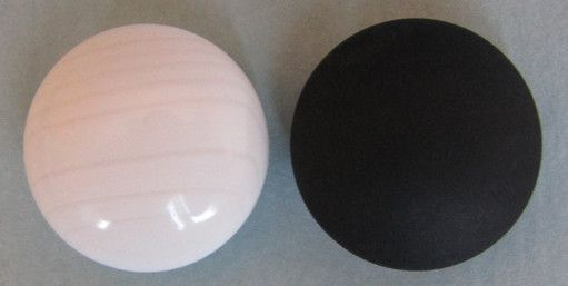 Clamshell & Slate Go Stones, 9,2 mm
