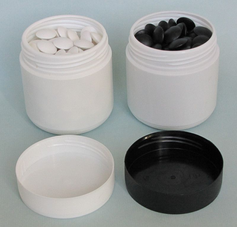 Plastic Containers - cylinder shape