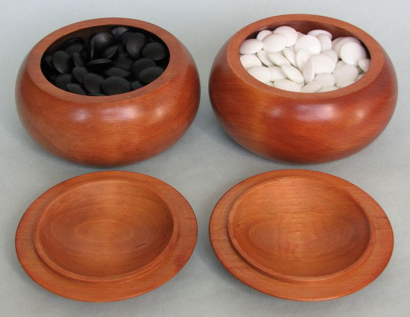 Wooden Bowls - reddish