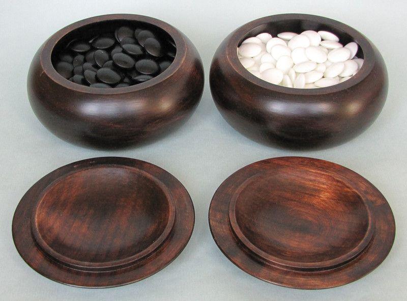 Wooden Bowls - extra dark