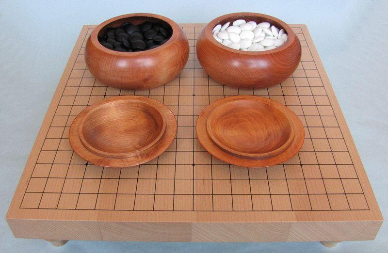 Go Set Advanced 2 (table 19x19, 180+180 stones, bowls)