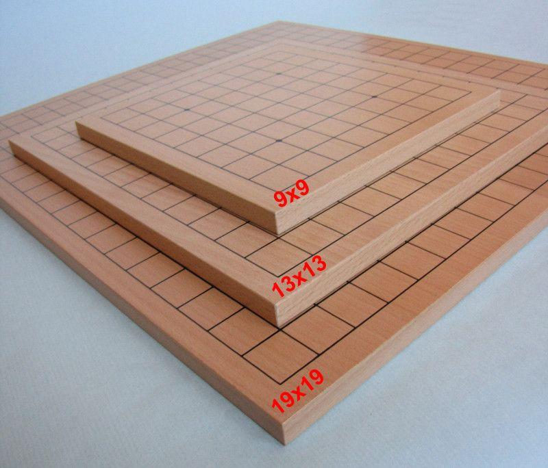 Go Board 19x19 + 13x13, 13 mm