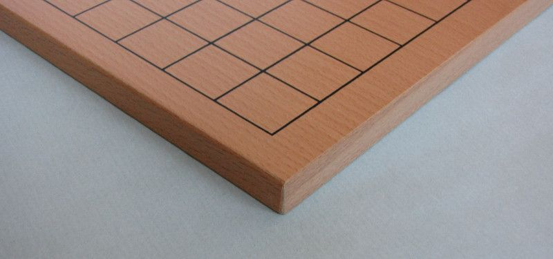 Go Board 19x19 - 13 mm, folding (magnetic joints), felted