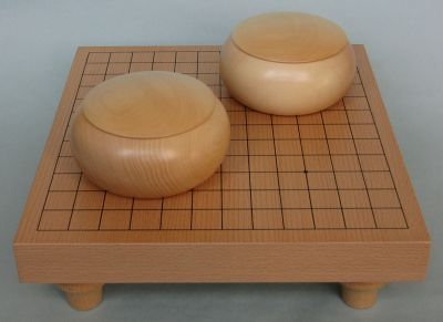 Table Go Set 13x13 (natural bowls)